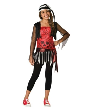 pirate lass teen costume