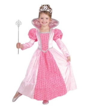 Princess Rose Kids Costume