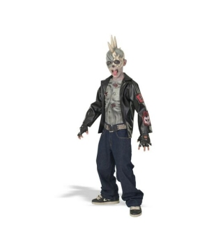Punk Zombie Boys Costume