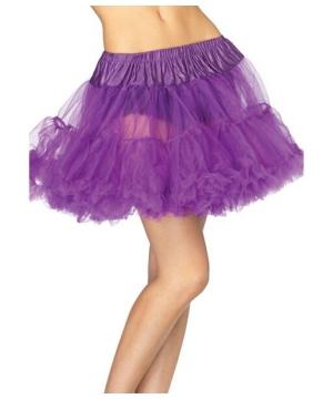 Purple Layered Tulle Petticoat - Adult Accessory