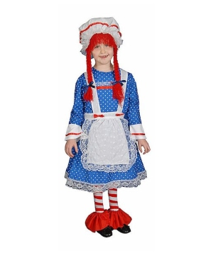 Rag Doll Kids Girls Costume