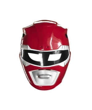 Red Ranger Adult Mask