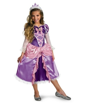 Tangled Rapunzel Girl Costume deluxe