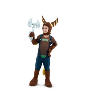 Ratchet and Clank Ratchet Boys Costume