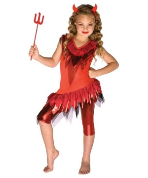 Red Devil Costume - Kids Costume