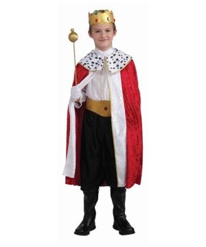 Regal King Boys Costume