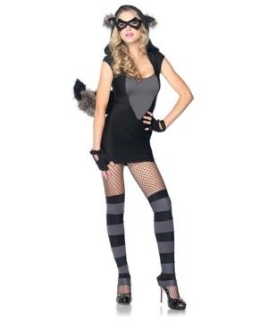 Risky Raccoon Women's Costume