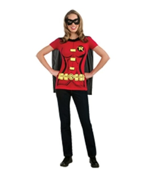 Sexy Robin Adult Costume Kit