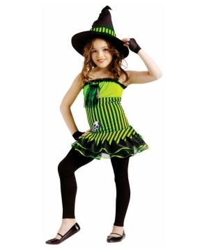 Rocking Witch Kids Costume