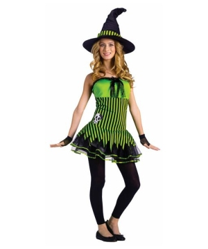 Rocking Witch Teen Costume