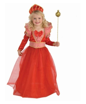 Ruby Queen Kids Costume