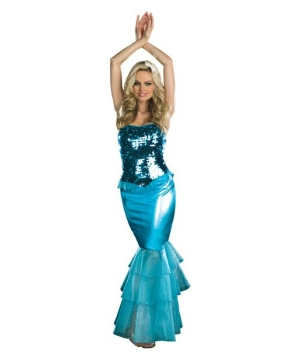 Sea Mermaid Costume - Adult Costume