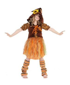 Serena the Scarecrow Costume - Kids Costume