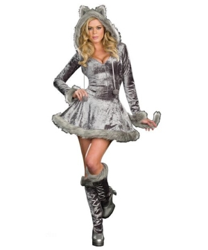 Sexy Wolf Adult plus size Costume