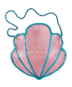 shell mermaid purse