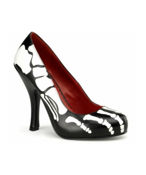 Skeleton Adult Shoes Accessory