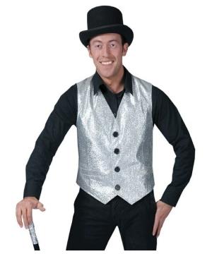 Silver Vest - Adult Costume