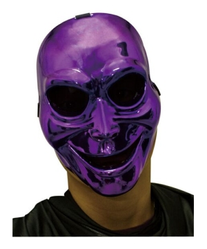 Purple Sinister Ghost Adult Mask