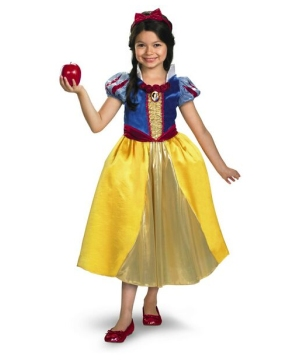 snow white disney girls costume