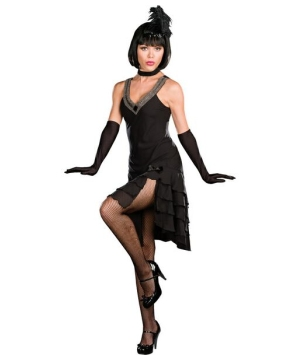 Sophisticated Flapper Lady Adult Costume