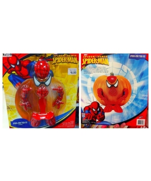 Spider Man Pumpkin Push in - Halloween Decoration