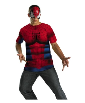 Spiderman Men Costume