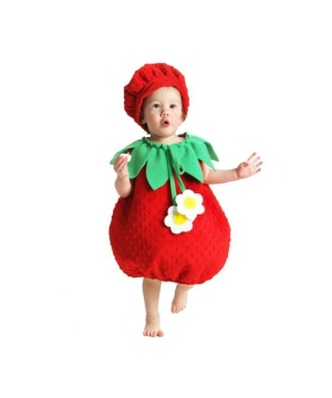 Strawberry Costume - Baby Costume
