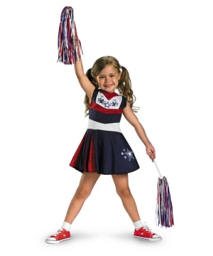 Superstar Spirit Cheerleader Kids Costume