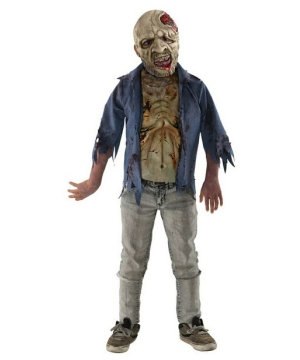 The Walking Dead Decomposed deluxe Costume - Kids Costume