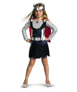 Thor Girl Costume Kids Costume