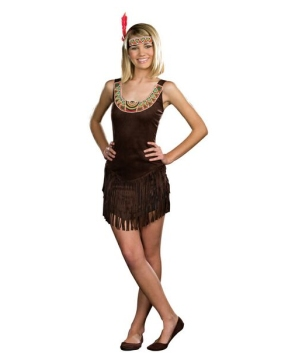 Indian Tribal Beauty Teen Costume