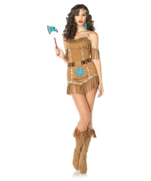 Tribal Goddess Indian Womens Costume