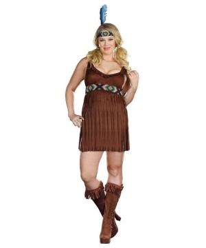 Tribal Trouble Costume - plus size Costume
