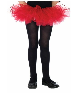 Tulle Tutu With Polka Dots Costume - Kids Costume