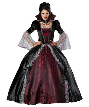 Vampiress of Versailles Costume- Adult Costume