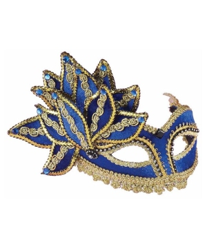 Peacock Masquerade Adult Mask