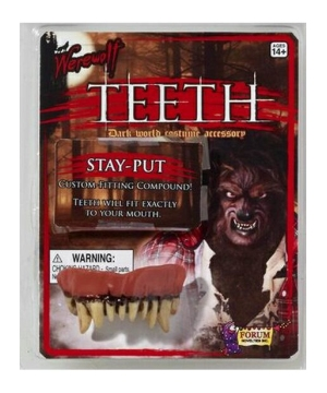 Werewolf Adult Teeth