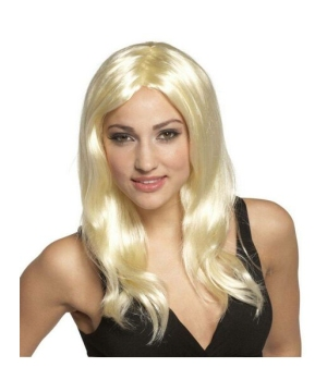 Glamour Gal Blonde Adult Wig