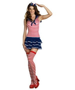 Windy Sailor Women Costume
