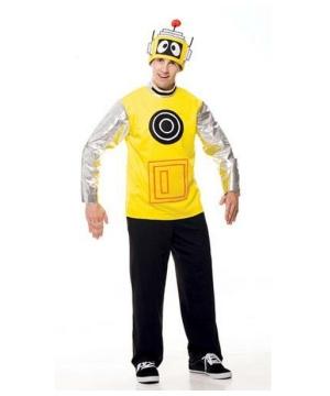 Yo Gabba Gabba Plex Men Costume