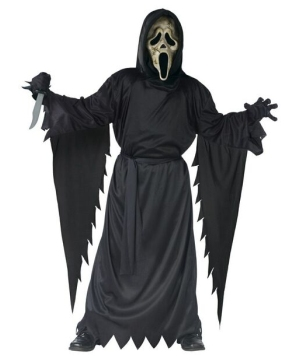 Zombie Ghost Face Boys Costume