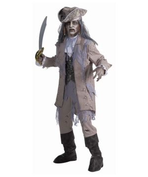 Zombie Pirate Men Costume