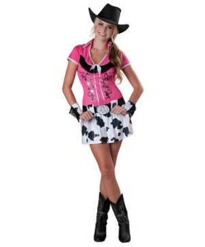Cowgirl Bling Teen Costume