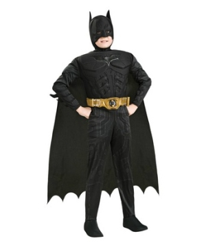 The Dark Knight Rises Batman Muscle Deluxe Toddler Costume