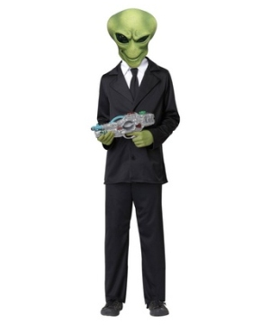 Alien Agent Kids Costume