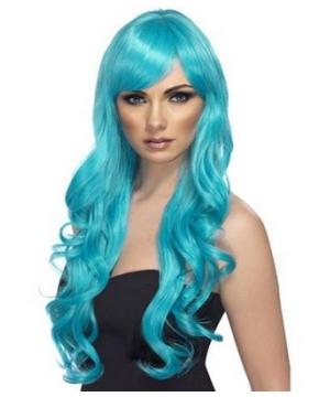 aqua desire adult wig