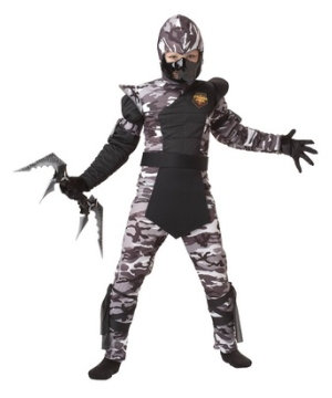 Arctic Forces Ninja Kids Costume