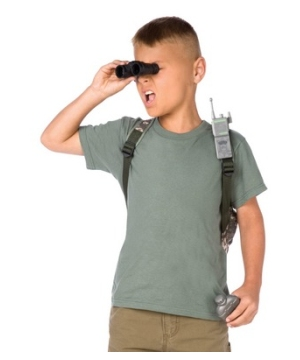 Army Kids Costume Accessory