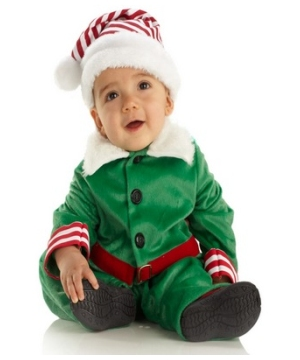 Elf Toddler Boys Costume