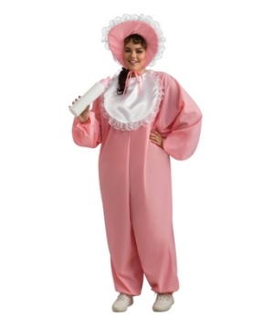 Pink Baby plus size Costume